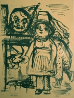 Kinderkarneval   Zeichnung