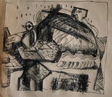 o. T.   Zeichnung