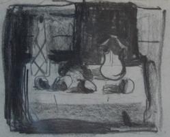 Stillleben   Zeichnung
