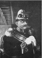Polizeipräsident K. | Öl auf Leinwand | Kriegsverlust