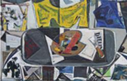 Joachim Heuer: Stillleben mit Palette